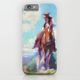 The Trail Foreman - William Herbert Dunton iPhone Case