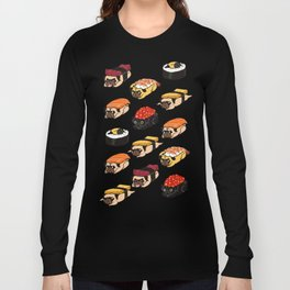 Sushi Pug Long Sleeve T-shirt