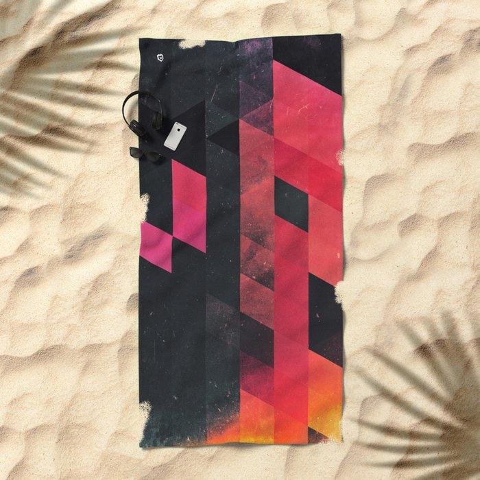 ylmyst tyme Beach Towel