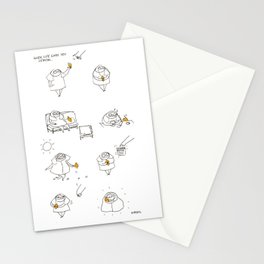 when life gives you lemon Stationery Cards