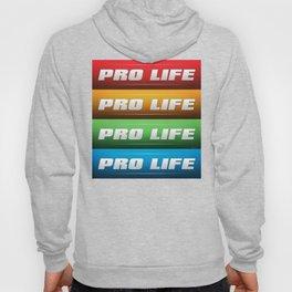 Pro Life Collage Hoody
