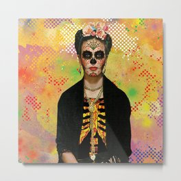 Frida Catrina Kahlo Metal Print