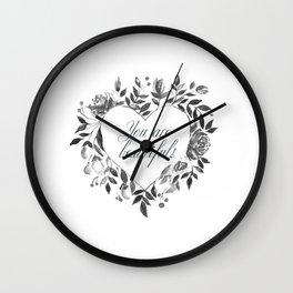 You are beautiful Wall Clock
