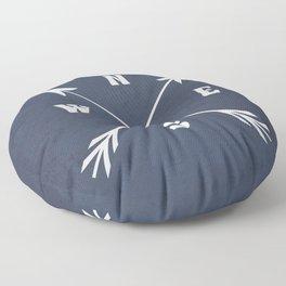 Compass arrows Floor Pillow