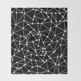 Ab Out Black Spots Throw Blanket