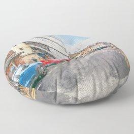 Nottingham art #nottingham Floor Pillow