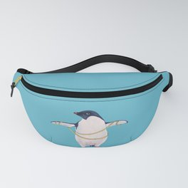 Cute Fat Penguin Goes On Diet Fanny Pack