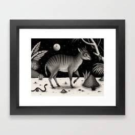 Zebra Duiker Framed Art Print