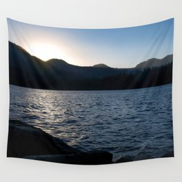Fallen Leaf Lake at Sunset Wall Tapestry