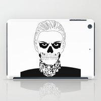 kris tate iPad Cases featuring Guy from Show by Isabel Moreno-Garcia