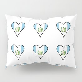 Flag of Guatemala 7 -Guatemalan,Mixco,Villa Nueva,Petapa,tropical,central america,spanish,latine Pillow Sham