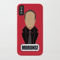 crowley iPhone & iPod Cases featuring 4 Crowley by Alice Wieckowska