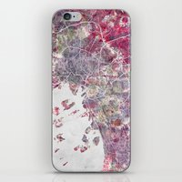 oslo iPhone & iPod Skins featuring Oslo Map by MapMapMaps.Watercolors