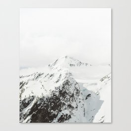 Aspiring peaks Canvas Print