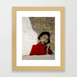 """Don't Call Me """"Baby"""" Framed Art Print"""