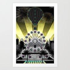 Station//City (6 of 6) Art Print