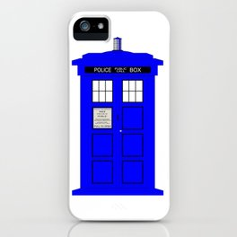 British Police Box iPhone Case