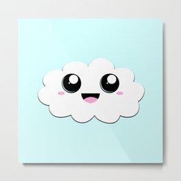 It's A Cloud (Single/Blue) Metal Print