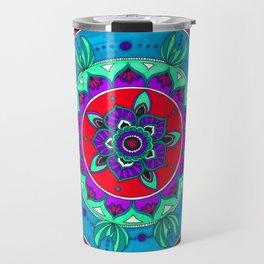 Little Mermaid Inspired Mandala Art Travel Mug