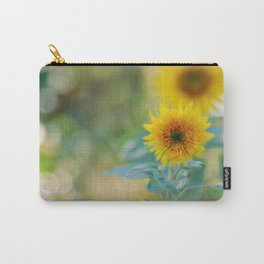 Kelly's Sunflowers Carry-All Pouch