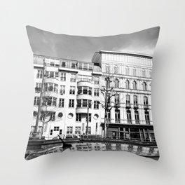 Urban meets classic Throw Pillow