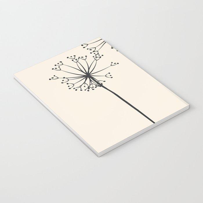 Dandelions Notebook