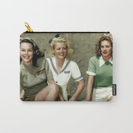 40's Chic Carry-All Pouch