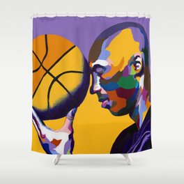 One With The Game Shower Curtain