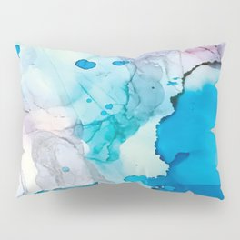 Drops of Blue Pillow Sham