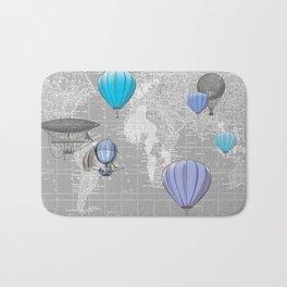 Travel the World Bath Mat