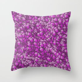 relief rose 4 Throw Pillow