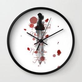 Nevernight (Never Fear) Wall Clock