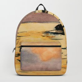 Winslow Homer1 - Rowing Home - Digital Remastered Edition Backpack