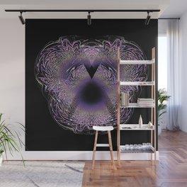 Violet Crystal Wall Mural