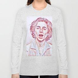 Timothée Chalamet x Sketch Long Sleeve T-shirt