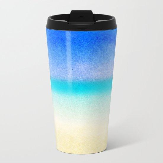 Tropical Sea #1 Metal Travel Mug