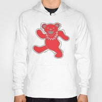 grateful dead Hoodies featuring Grateful Dead (Ohio State) (Vector Art) by Troy Arthur Graphics