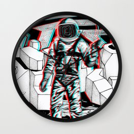 Fear What is Unknown Wall Clock