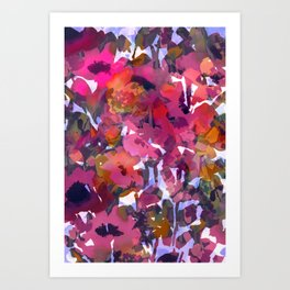 Poppy Patch Tapestry Art Print
