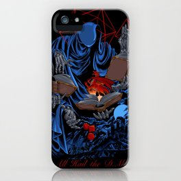 Dungeons, Dice and Dragons - The Dungeon Master iPhone Case
