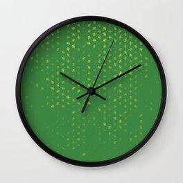 leo zodiac sign pattern gr Wall Clock