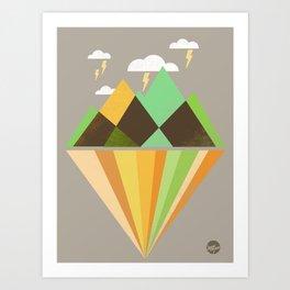 Void Dweller 2 Art Print