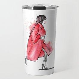Red Love Travel Mug
