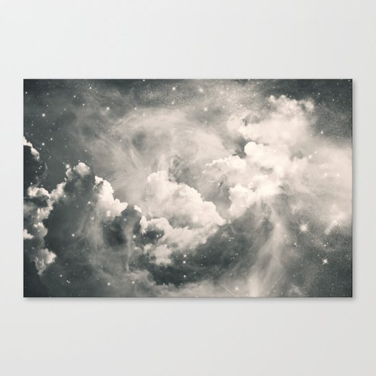Find Me Among the Stars Canvas Print