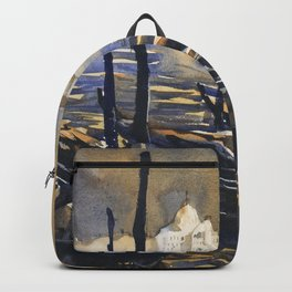 Church of San Giorgio Maggiore in the medieval city of Venice, Italy Backpack