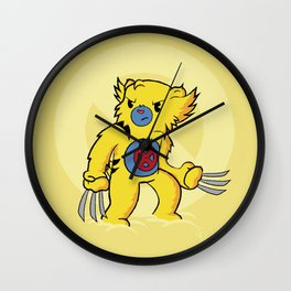 Carebearine Wall Clock