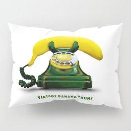 ORGANIC INVENTIONS SERIES: Vintage Banana Phone Pillow Sham