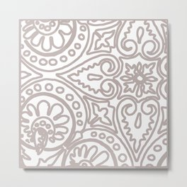 Dulce Sand Metal Print