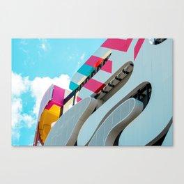 Museum Garage 1, Miami Design District Series Canvas Print