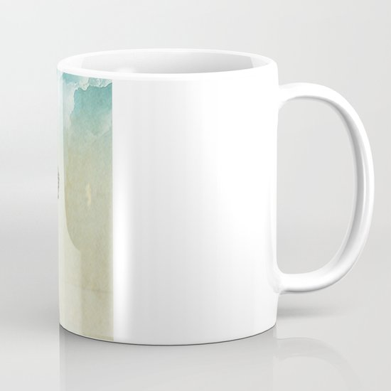 Tiny and the Cheese Moon Coffee Mug